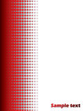 Halftone red background 2 Stock Photography