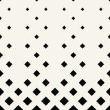Halftone red square geometric gradient pattern Royalty Free Stock Photo
