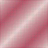Halftone red square geometric gradient pattern Royalty Free Illustration