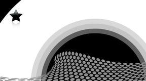 Halftone retro dots Stock Photography