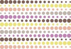 Halftone retro striped pattern Stock Image