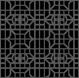 Halftone round black seamless background curve square polygon cr Royalty Free Stock Photo