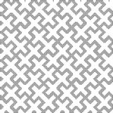 Halftone round black seamless background double cross square  Royalty Free Stock Photo