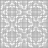 Halftone round black seamless background square spiral cross che Stock Photo