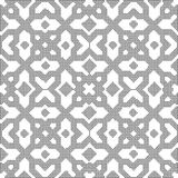 Halftone round black seamless background square star cross. Kaleidoscope can be used for both print and web page Stock Images