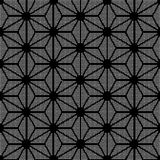 Halftone round black seamless background star triangle cross geo. Metry can be used for both print and web page Royalty Free Stock Photography