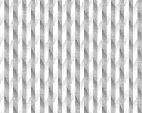Halftone screen triangle geometric form. Black background. White texture and pattern.paper folding. pleats Royalty Free Stock Photography