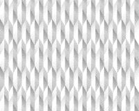 Halftone screen triangle geometric form. Black background. White texture and pattern.paper folding. pleats Royalty Free Stock Image