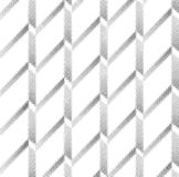 Halftone screen triangle geometric form. Black background. White texture and pattern.paper folding. pleats Stock Images