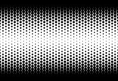 Halftone seamless Royalty Free Stock Photo