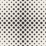 Halftone seamless geometric pattern. Monochrome texture. Halftone seamless geometric pattern. Monochrome vector texture Royalty Free Stock Images