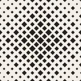 Halftone seamless geometric pattern. Monochrome texture. Halftone seamless geometric pattern. Monochrome vector texture Royalty Free Stock Photography