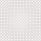 Halftone seamless pattern with circles, rings, dots. Optical illusion effect. Vector geometric halftone seamless pattern with circles, rings, dots. Subtle vector illustration