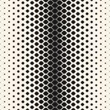 Halftone seamless pattern, mesh geometric texture Stock Image