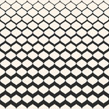 Halftone seamless pattern, mesh texture with gradually thickness vector illustration