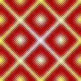 Halftone seamless tile Stock Image