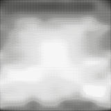 Halftone seamless vector background. Abstract halftone effect with black dots on white background Stock Image