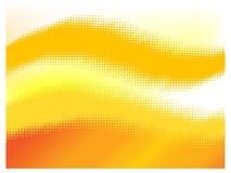 Halftone sinaasappel Royalty-vrije Stock Afbeeldingen