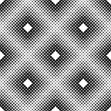 Halftone Square Tiles Vector Seamless Pattern Royalty Free Stock Photography