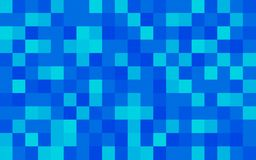 Halftone squares royalty free stock photography