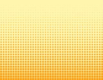 Halftone squares Stock Photography