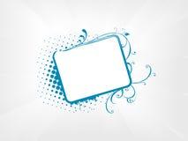 Halftone steekproeftekst Stock Foto