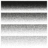 Halftone and stipple effect. EPS 10 vector. Halftone and stipple effect isolated on white. And also includes EPS 10 vector Royalty Free Stock Photos