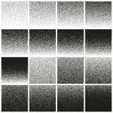 Halftone and stipple effect. EPS 10 vector Stock Photos