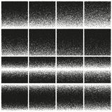 Halftone and stipple effect. EPS 10 vector Royalty Free Stock Images