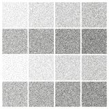 Halftone and stipple effect. EPS 10 vector. Halftone and stipple effect isolated on white. And also includes EPS 10 vector Royalty Free Stock Image
