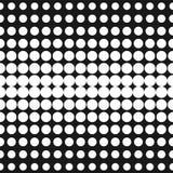 Halftone Textuur van Punten In ontwerp voor digitaal decor, Web Royalty-vrije Stock Afbeelding