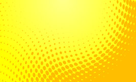 Halftone vector background Royalty Free Stock Photos
