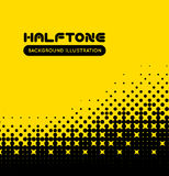 Halftone vector background Royalty Free Stock Photography