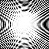 Halftone vector dots.Halftone effect. Background concept. Vignette texture. Circle dots isolated on the white background. stock illustration