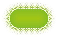 Halftone vector het ontwerpelement van het cirkelkader Royalty-vrije Stock Foto's