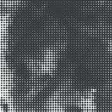 Halftone Vector Illustration Background. EPS 10 Royalty Free Stock Images
