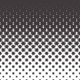 Halftone vector pattern Stock Photo