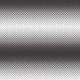 Halftone vectorpatroon Royalty-vrije Stock Foto