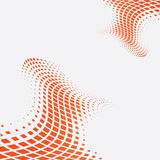 Halftone veelkleurige vectorillustratie als achtergrond Royalty-vrije Stock Fotografie