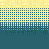 Halftone vintage vector background with green and blue color. Royalty Free Stock Photos