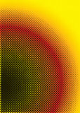 Halftone warm Royalty Free Stock Image