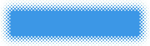 Halftone Web header / Banner Royalty Free Stock Photos