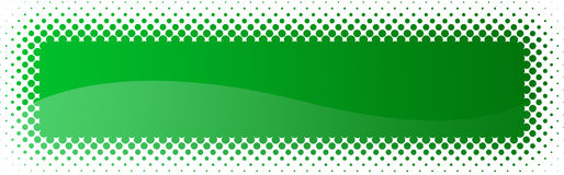 Halftone web header / banner Stock Photo