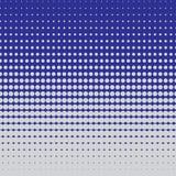 Halftone wzór okręgi Obrazy Royalty Free