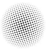 halftone wzór Obrazy Royalty Free