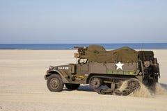 Halftrack del Ejército del EE. UU. Fotos de archivo libres de regalías