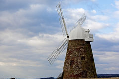 Halhaker Windmill. Halnaker Windmill is a tower mill which stands on Halnaker Hill, northeast of Chichester, Sussex, England Stock Photos