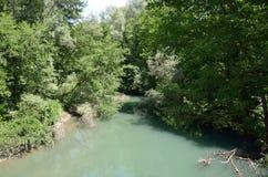 Haliacmon river Stock Images
