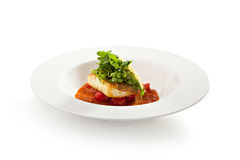 Halibut Fillet Stock Photography