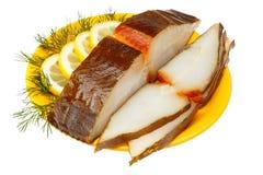 Halibut fish Royalty Free Stock Photo